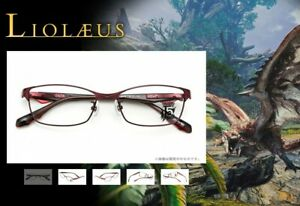 MONSTER HUNTER 15th Anniversary Leolaeus Glasses Frame Japan Limited Cosplay