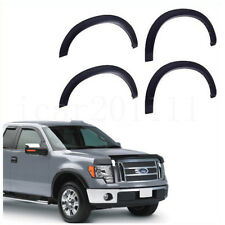 For 09-14 FORD F150 Pickup Fender Flares Protector Set OE Style Black