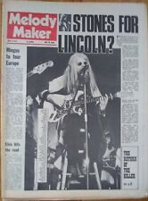 Melody Maker May 6th '72 ELO T.Rex Wings Matching Mole Sandy Denny Joni Mitchell