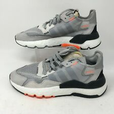 Adidas Nite Jogger Mens Sneakers Athletic Running Shoes DB3361 Gray Lace Up 7 M