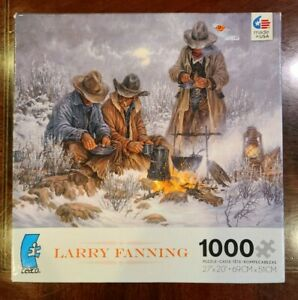 Larry Fanning CEACO 1000 Piece Jigsaw Puzzle Sealed, New