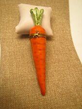 New Listing Limoges Carrot Trinket Box ~Retired~