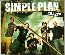SIMPLE PLAN - Crazy - (3 Track Promo CD) - MINT / NEW
