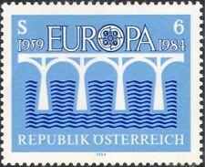 Autriche 1984 EUROPA/CEPT 25th Anniversaire/ponts Emblème/animation 1 V (at1010a)