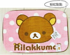 San-X Rilakkuma Bathroom Door Absorbent 45x65cm Bath mat Carpet RH-30013A Pink