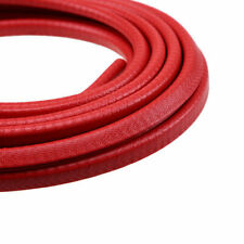 4.5M Rubber Red Seal Flexible Strip Edge Guard for Car Door Window Line Trim new