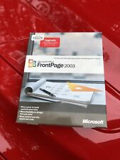 Microsoft FrontPage 2003 Retail Full Version with CD And Product Key