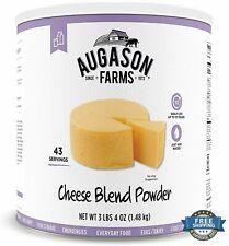 Survival Emergency Food Cheese Blend Powder 3lbs 10 Year Long Shelf Life Storage