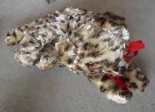 "Vintage 1940s Gund Mfg Co Swedlin Leopard Cat Stuffed Animal 4 1/2"" Tall"