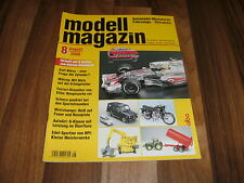 Modell Magazin  8/2008 -- Automobil-Miniaturen / Westfalia Unimog von Schuco