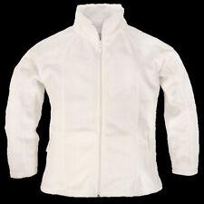 Lakin Mckey Women's Size 2XL Winter White Semi-Fitted Fleece Jacket 811-11 (NWT)