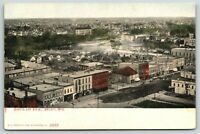 Beloit Wisconsin~Birdseye~Brewery~Feed & Livery Stable~Hotel~Homes~c1910 PC