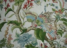 "SCHUMACHER FABRIC, GREEFF COLLECTION ""CRANLEY GARDEN "" 100 X 145 CM COTTON"