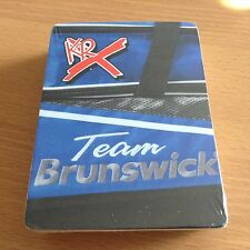 Play Cards Team Brunswick KRX Bowling Playing Cards Image of Zip bag NEW SEALED
