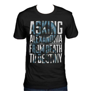 Asking Alexandria - Death to Destiny - Snake in Text - Men's / Unisex size Small