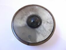 original antique mariners pinch horn pocket snuff box