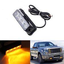 4 LED 4W Yellow Vehicle Emergency Warning Flashing Bar Beacon Strobe Light