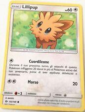 LILLIPUP 103/149 SET SOLE E LUNA COMUNE CARTA POKEMON ITALIANA NEAR MINT NM