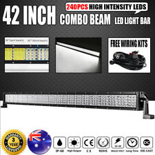"42inch 2880W Philips LED Light Bar QUAD ROWS Combo Offroad Driving Truck 42"" 50"""