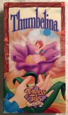 Timeless Tales From Hallmark - Thumbelina (Prev. Viewed VHS, 1990)
