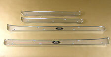 1956 1957 Pontiac 4 Dr Hardtop sill plate set; Body by Fisher, C4669887RS