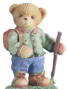 CHERISHED TEDDIES PAYTON - Hiker Figurine 2003 - Retired