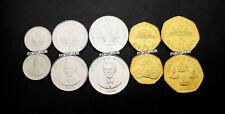 Haiti 5 Coins SET, 5 20 50 Centime 1 5 Gourdes, UNC, 1995 2003, Km-152 to 156