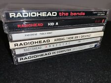 RADIOHEAD Kid A Pablo Honey OK Computer Amnesiac Bends Airbag How Am I Driving