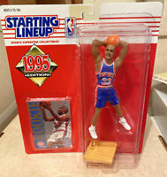 1995 GRANT HILL STARTING LINEUP SLU NBA ROOKIE SLU Card DETROIT PISTONS
