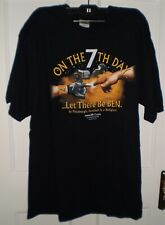 Men's Black On The 7th Day Pittsburgh Steelers Football T-Shirt Size XL