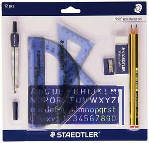 STAEDTLER Noris 120 P1 569 Geo Starter Pack with 10 Items