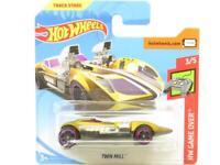Hotwheels Twin Mill HW Game Over 93/250 Gold Short Card 1 64 Scale Sealed New