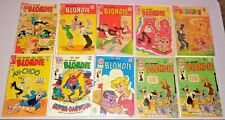 CHARLTON SILVER & BRONZE AGE CHIC YOUNG'S BLONDIE COMICS LOT NEWSPAPER FUNNIES