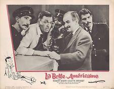 La Belle Americaine 1962 11x14 Lobby Card #3