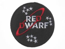 """Red Dwarf Series Logo embroidered badge Patch 8.5x8.5cm 3.5"""""""