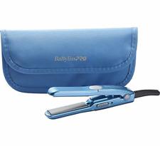 """BABYLISS PRO Nano Titanium1/2"""" Mini Straightener Pouch Dual Voltge BABNTBG3050N"""