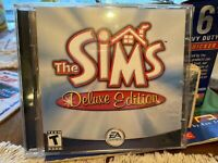 PC CD-ROM Game The Sims Deluxe Edition EA Games 2002