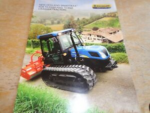 2014 NEW HOLLAND SMARTTRAX TK4050M & TK4060 CRAWLER TRACTOR BROCHURE