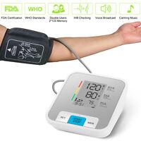 Automatic High Blood Pressure Monitor Upper Arm BP Cuff Gauge Heart Rate Machine