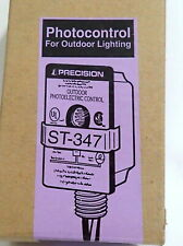 PRECISION ST-347 *NEW* OUTDOOR PHOTOELECTRIC CONTROL 347VAC 1800VA