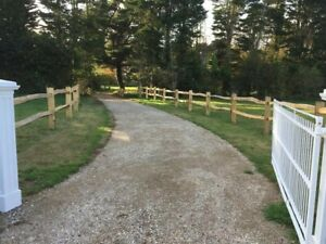 Chestnut posts, chestnut post and rail fencing, chestnut cleft fencing, stakes