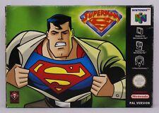 SUPERMAN 64 - NINTENDO 64 N64 PAL ESPAÑA SUPER MAN EL PEOR JUEGO DE LA HISTORIA