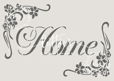 STENCIL VINTAGE A5 FLORAL HOME Furniture Fabric ❤ Airbrush Shabby Chic 190 MYLAR