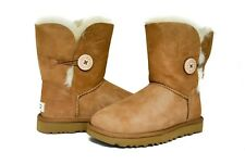UGG Australia Womens Bailey Button Boots 2 II 1016226 in Chestnut Black Grey NEW