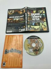 Sony PlayStation 2 Ps2 Cib Complete Tested Grand Theft Auto San Andreas Gta