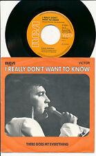 """ELVIS PRESLEY 45 TOURS 7"""" GERMANY I REALLY DON'T WANT TO KNOW+"""