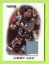 2016 Topps Wwe Survivor Series Jimmy Uso Event Used Mat Relic #084/199