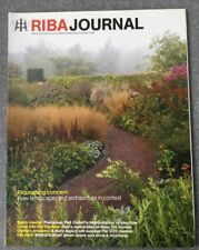 RIBA Journal Apr 2010 Landscaping Kew Gardens Piet Oudolf Madrid Green Line