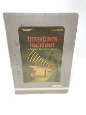Vintage Tandy Color Computer Game INTERBANK INCIDENT Adventure Game B586