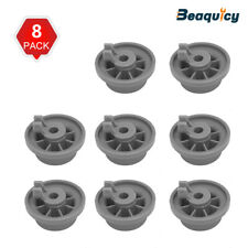 165314 Dishwasher Lower Rack Wheel Fit for Bosch Kenmore 420198 8-Pack